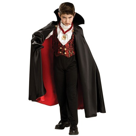 Transylvanian Vampire Costume for - Men's Vampire Makeup