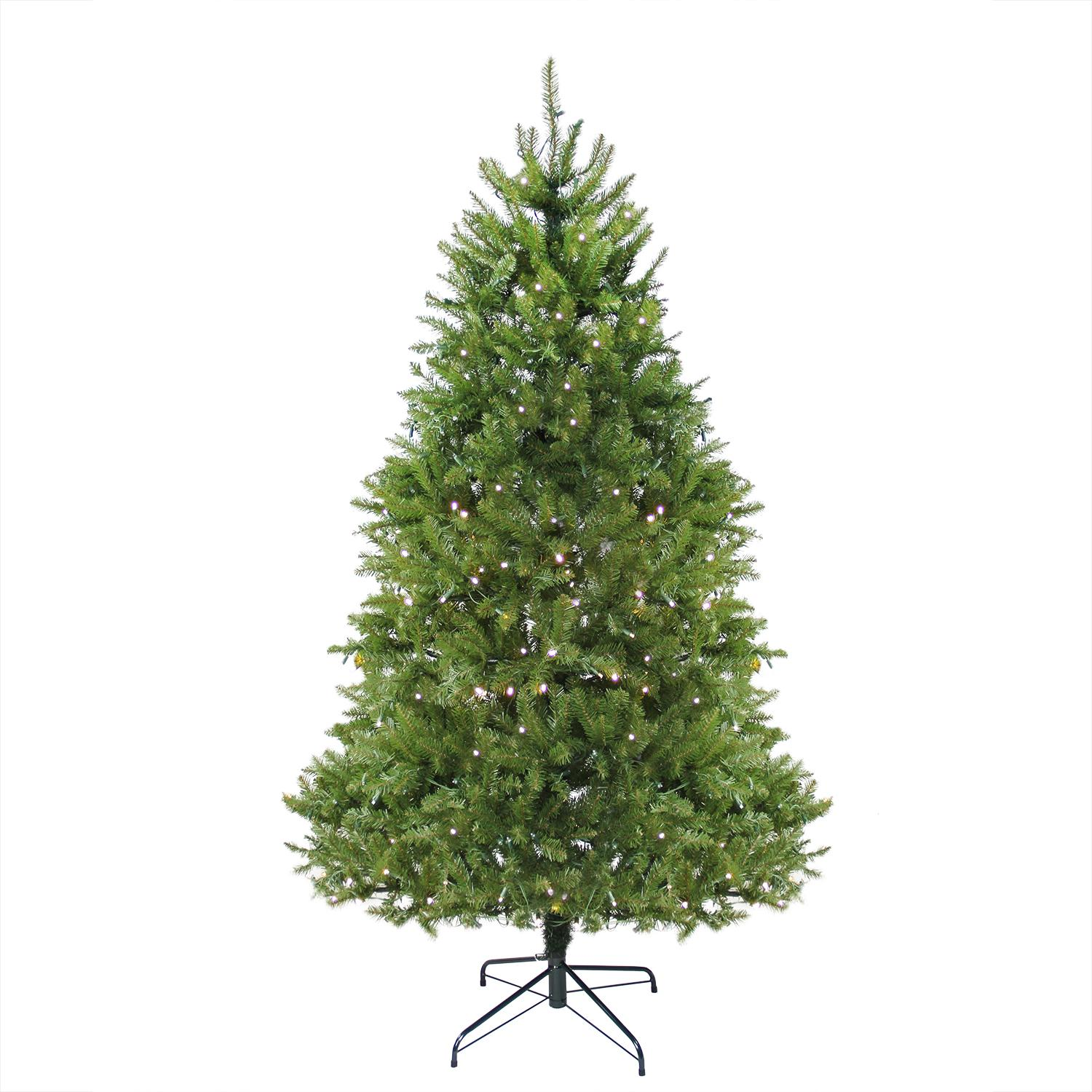 14' Pre-Lit Northern Pine Full Artificial Christmas Tree - Warm Clear LED Lights