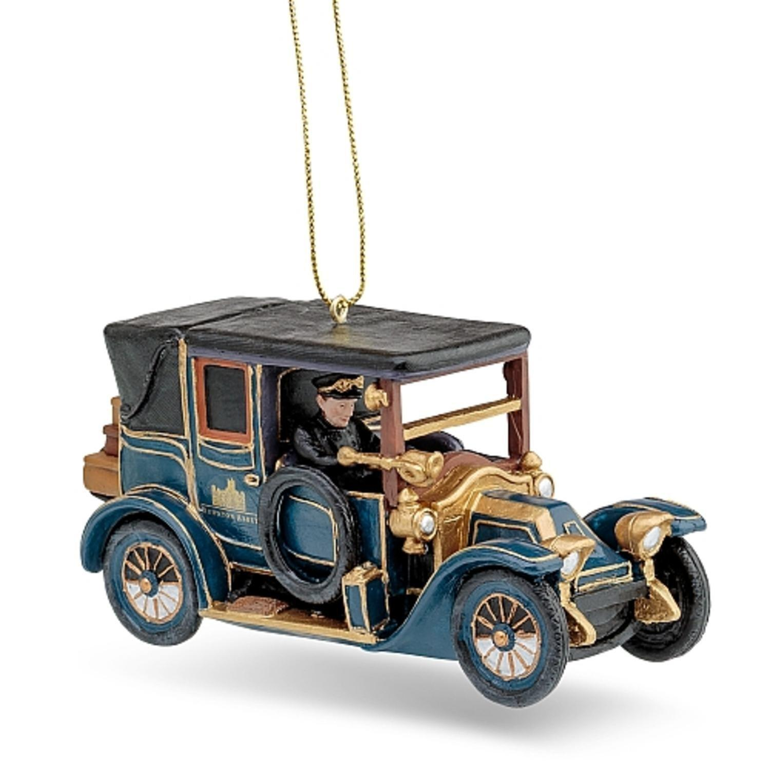 "4.5"" Downton Abbey Car Officially Licensed Christmas Ornament"