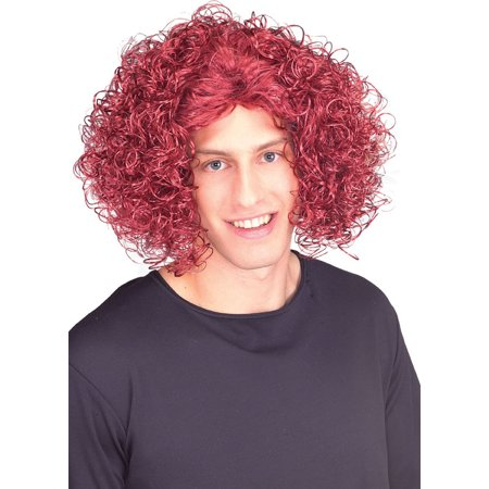Adult Loud Mouth Red Top Wig Rubies 51163