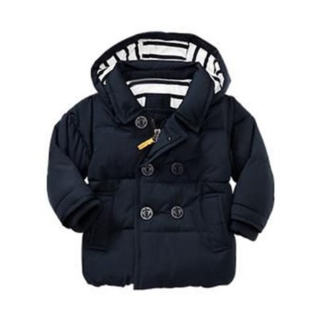 Toddler Baby Black Cotton Jacket Coat - Baby T Bird Jacket