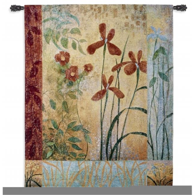 FineArtTapestries 3715-WH Bedazzle Large Wall Tapestry by Supplier Generic