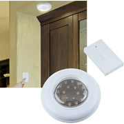 Battery operated wall lights cordless ceilingwall light with remote control light switch aloadofball Images