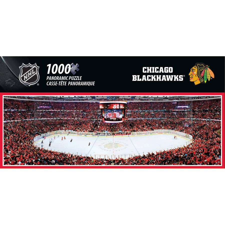 NHL Chicago Blackhawks Sports Stadium Puzzles by Generic