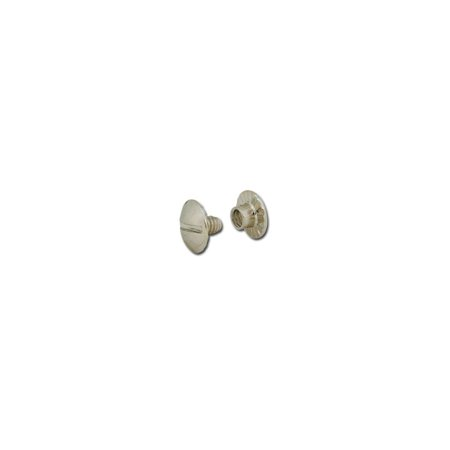 Screw Back Closure - Tandy Leather Screw Post Open Back 1/8