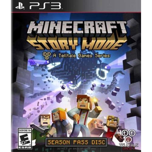 Minecraft: Story Mode-season Disc (PS3 - Rebellion)