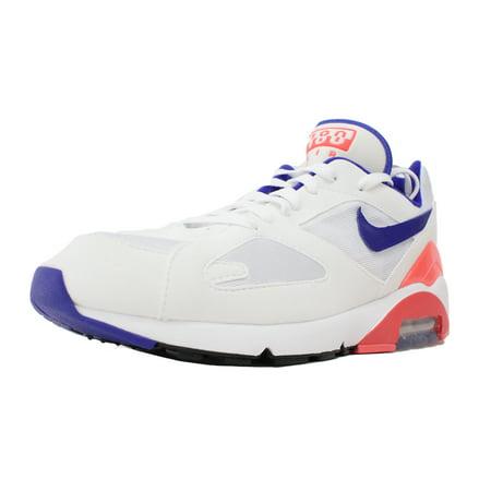 info for eccab 48e2c Nike - NIKE AIR MAX 180 OG SZ 8.5 WHITE ULTRAMARINE SOLAR RED BLACK 615287  100 - Walmart.com