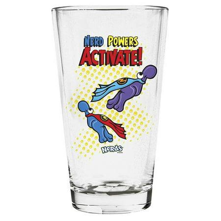 Imaginarium Goods GLS-NES-POWERS Nerd Pint Glass, Power Activate - image 1 of 1
