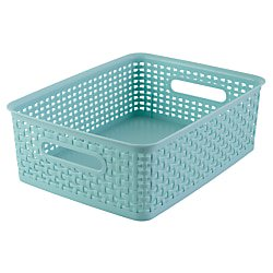 See Jane Work® Decorative Storage, Medium Woven Bin, 4 4/5