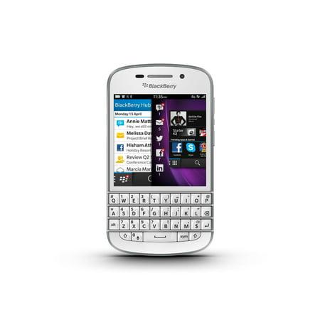 Blackberry Q10 Unlocked Cellphone, 16GB, White (The Best Blackberry Phone)