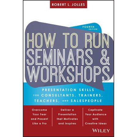 How to Run Seminars and Workshops : Presentation Skills for Consultants, Trainers, Teachers, and Salespeople](Skills Workshop Halloween)