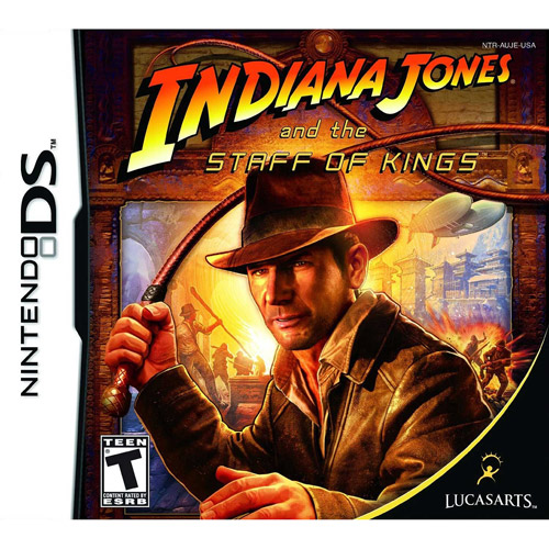 Indiana Jones-Staff Of King (DS) - Pre-Owned