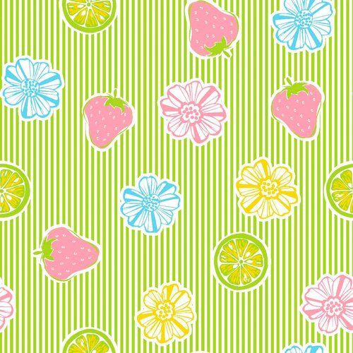 Springs Creative Just Ripe Pucker Stripe Grass Fabric By The Yard