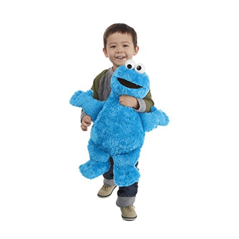 Playskool Sesame Street Cookie Monster Jumbo Plush