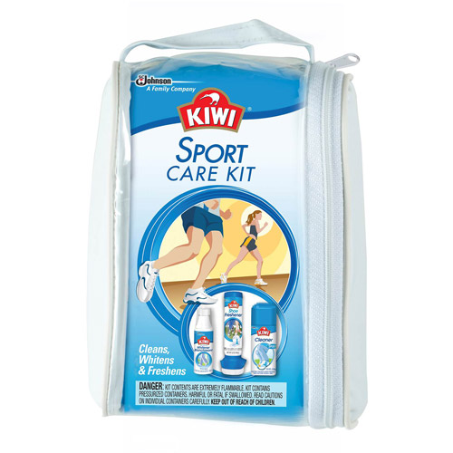 KIWI Sport Shoe Care Kit, 3 pc