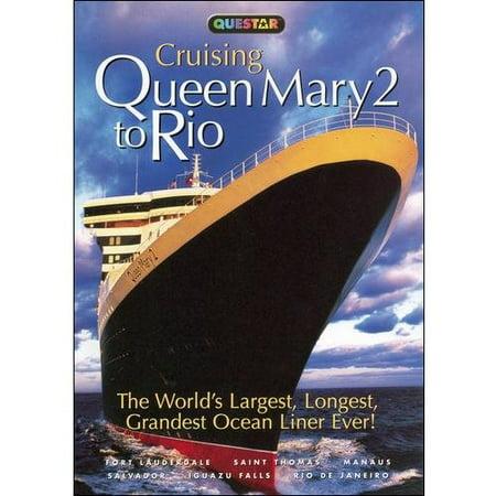 Cruising Queen Mary 2 To Rio - Dark Harbor Halloween Queen Mary