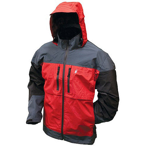 Frogg Toggs Toadz Anura Jacket Red/Slate/Black