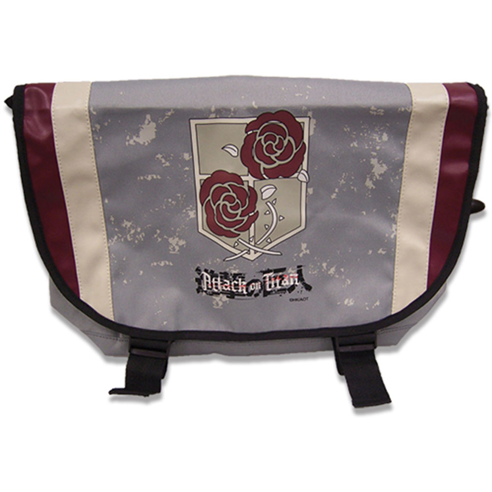 Attack On Titan Stationary Guard Anime Messenger Bag