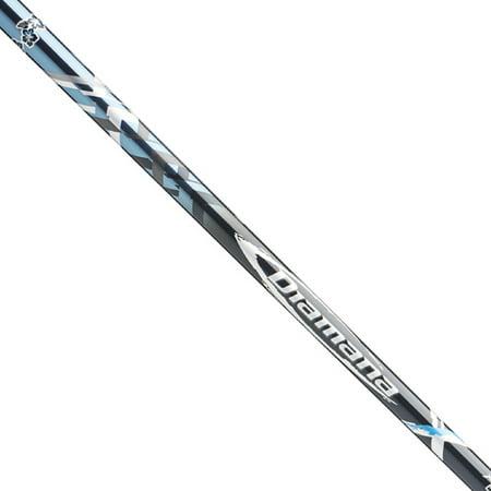 Diamana Shaft - Mitsubishi Diamana X-Series 50 Graphite Shaft + Adapter & Grip