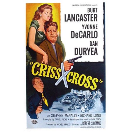 Posterazzi MOV416017 Criss Cross Movie Poster - 11 x 17 in. - image 1 de 1