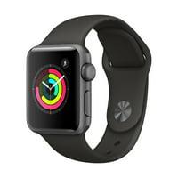 Refurbished Apple Watch Series 3 GPS - 38mm - Sport Band - Aluminum Case