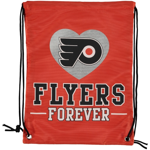 Philadelphia Flyers Forever Drawstring Backpack - No Size