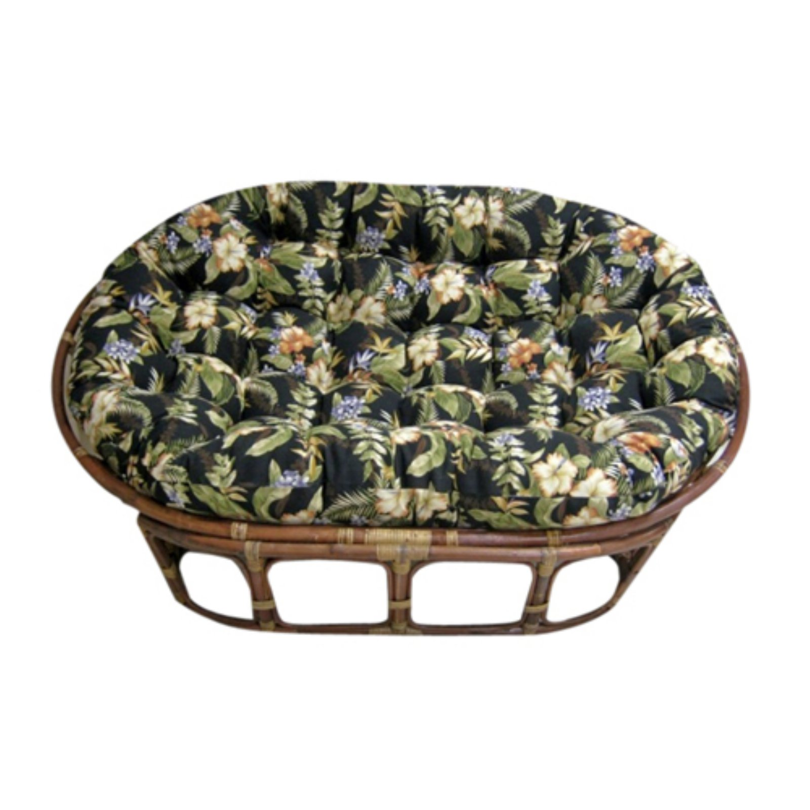 Blazing Needles 60 inch Outdoor Double Papasan Cushion