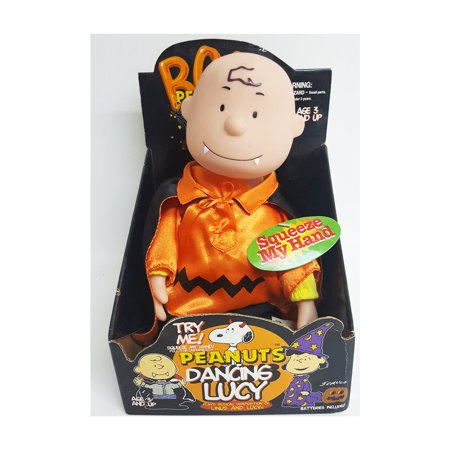 Gemmy Peanuts Halloween Dancing Dracula Charlie Brown Animated Doll Moves To Peanuts Song