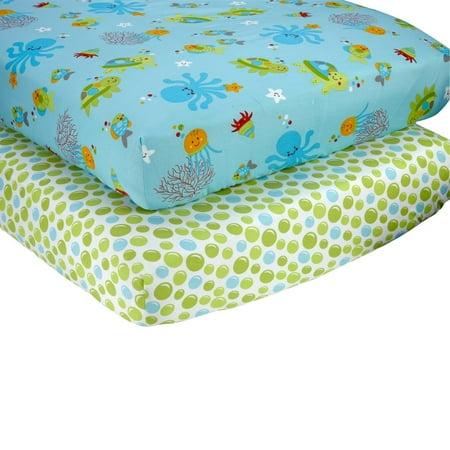 Little Bedding by NoJo Ocean Dreams Sheet Set (2pk)