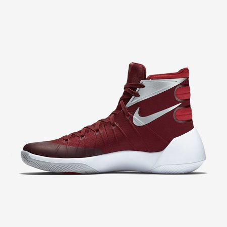 d758699a1bd0 Nike Mens Hyperdunk 2015 TB Basketball Shoe (TEAM RED UNIVERSITY RED WHITE METALLIC  SILVER