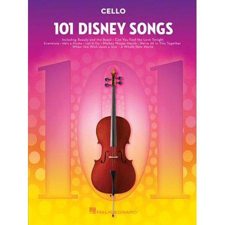 101 Disney Songs : For Cello (Song Cello)