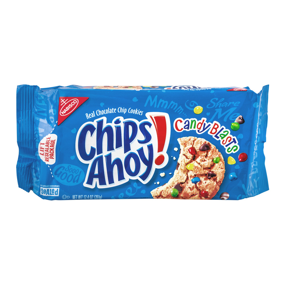 Nabisco Chips Ahoy! Chocolate Chip Cookies Candy Blasts, 12.4 OZ