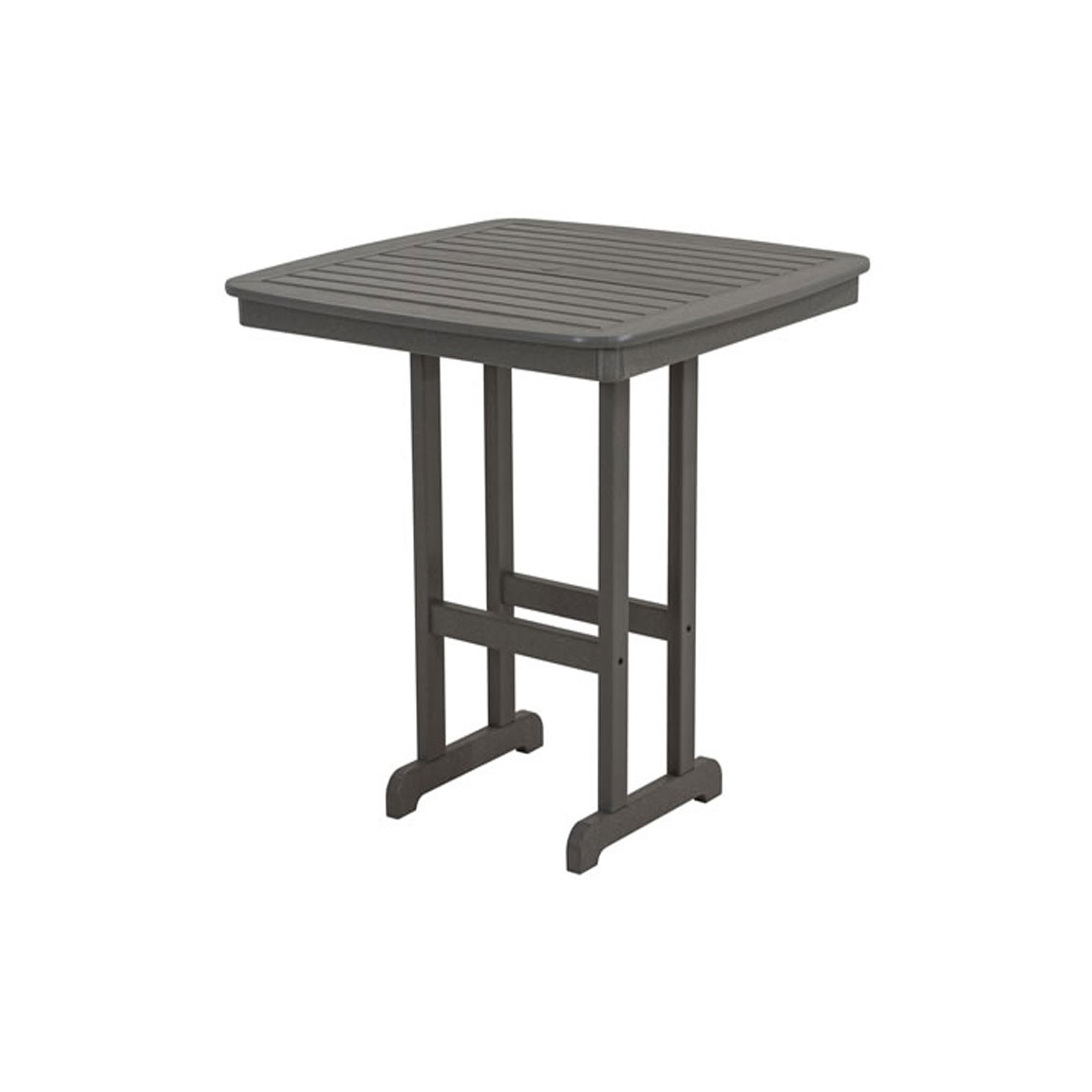 Recycled Plastic Nautical 44 inches Pub Table by Poly-Wood Adirondack