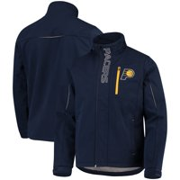 Indiana Pacers G-III Sports by Carl Banks Energy Soft Shell Full-Zip Jacket - Navy