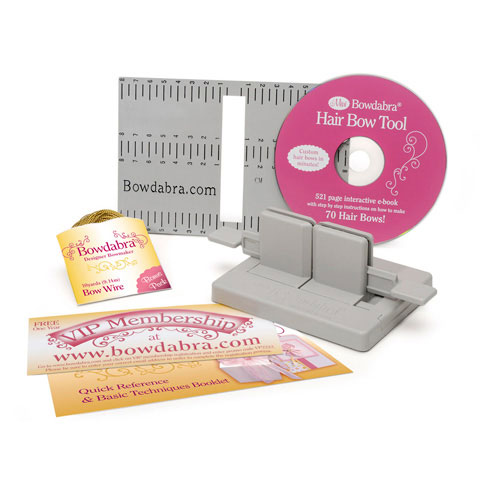 Bowdabra Hair Bow Making Kit