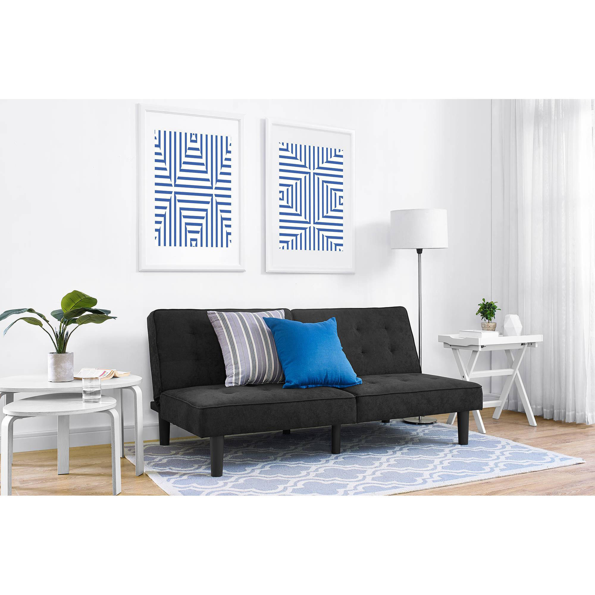 Mainstays Arlo Futon Multiple Colors Walmartcom