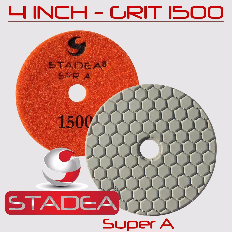 7 Inch Diamond Polishing Pad 10 PIECE Travertine Granite Concrete floor Marble