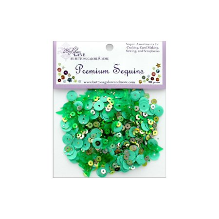 Buttons Galore Ll Premium Sequins Forest - image 1 of 1