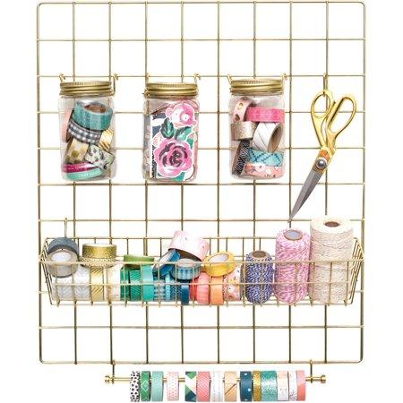 Crate Paper Washi Storage Kit-Gold](Craft Store Online)