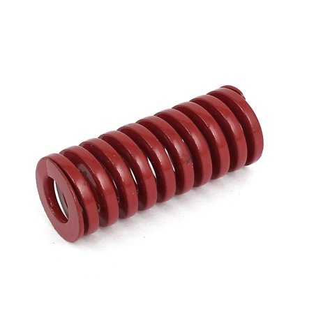 20mm OD 50mm Long Coil Medium Load Stamping Compression Mold Die Spring Red