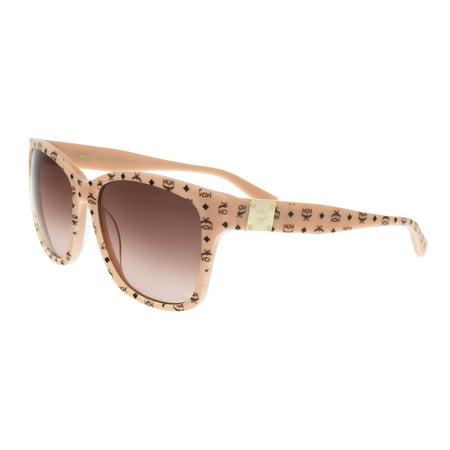 MCM600S 291 Nude Visettos Rectangle Feline (Feline Sunglasses)