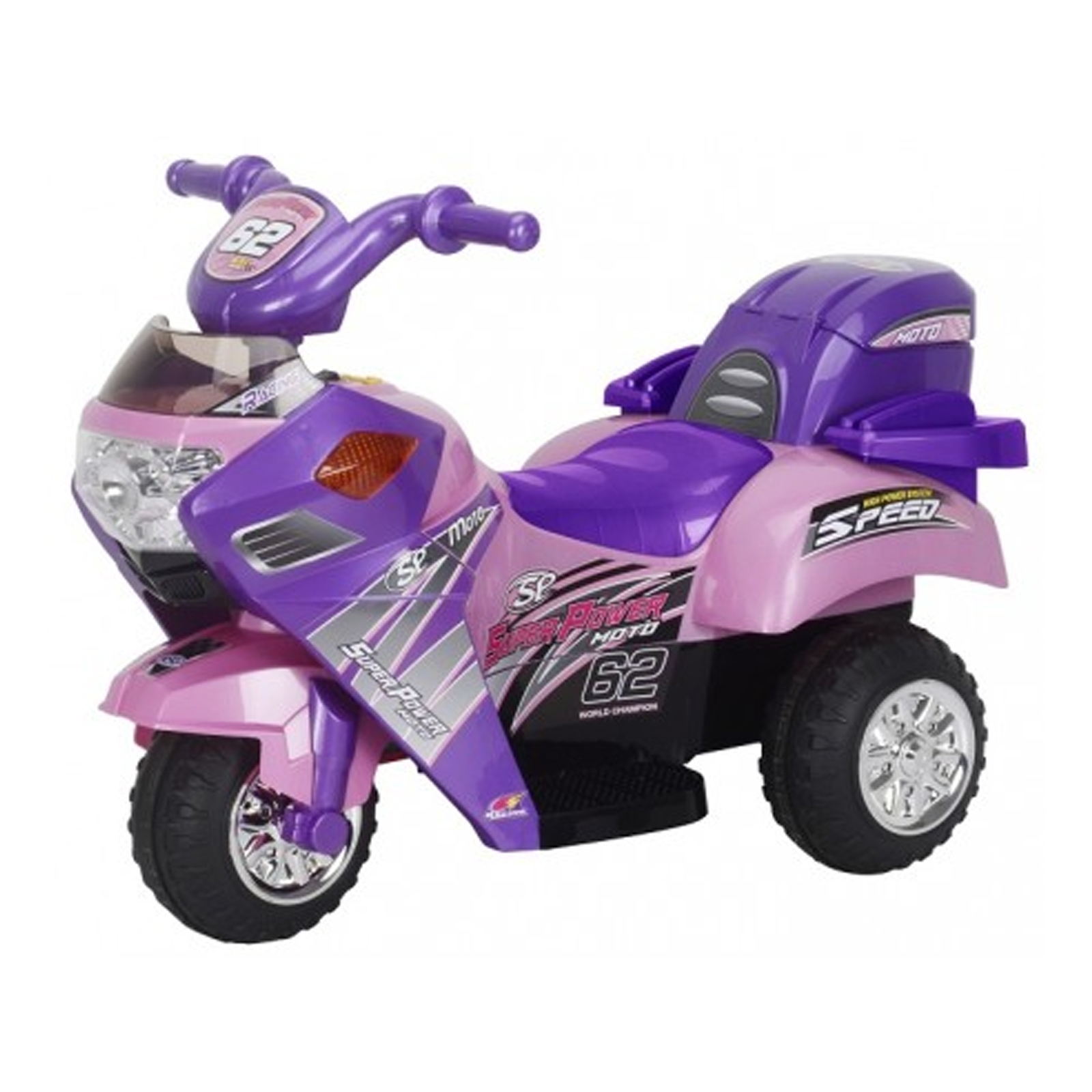 Little 3 Wheeler Pink Kids Ride On 6V Battery Powered Mini Motorcycle by KidFun Products