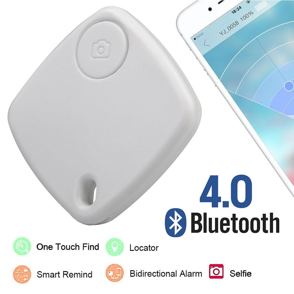 Batteraw Smart Mini Bluetooth GPS Locator Tag Alarm Finder Tracker for Key Wallet Car Pet Dog Child Anti-Lost Anti-Theft Tracking Device