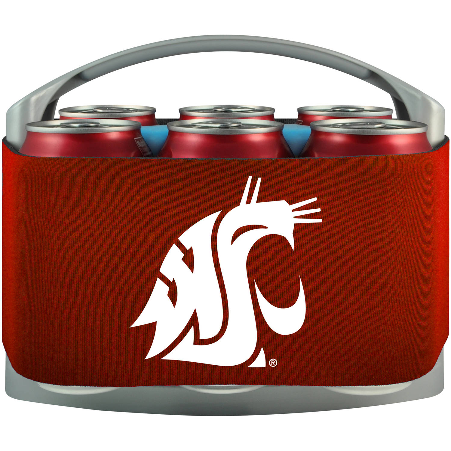 NCAA Washington State Cougars Cool 6 Cooler
