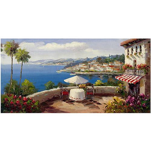 "Trademark Fine Art ""Italian Afternoon"" Canvas Wall Art by Rio"