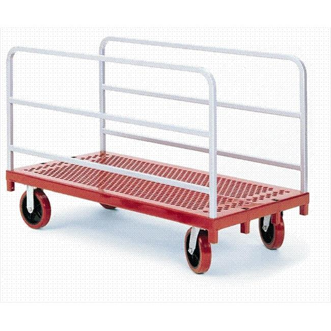 Raymond Products 3901 Heavy Duty Panel/Sheet Mover - 8'' Quiet Poly Casters  2 Fixed and 2 Swivel  2 Uprights