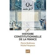 Histoire constitutionnelle de la France - eBook
