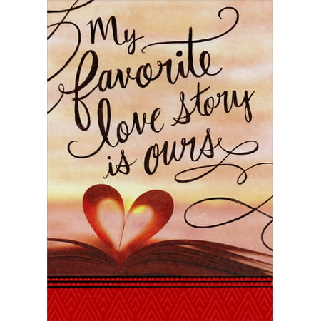Designer Greetings Favorite Love Story: Husband Valentine's Day - Fathers Day Card Print Out