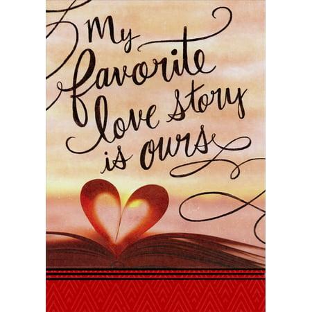 Designer Greetings Favorite Love Story: Husband Valentine