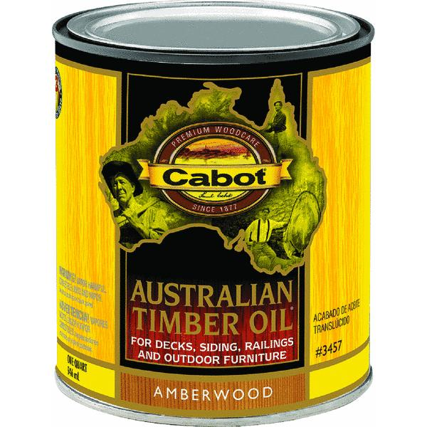 Cabot Australian Timber Oil Translucent Exterior Oil Finish